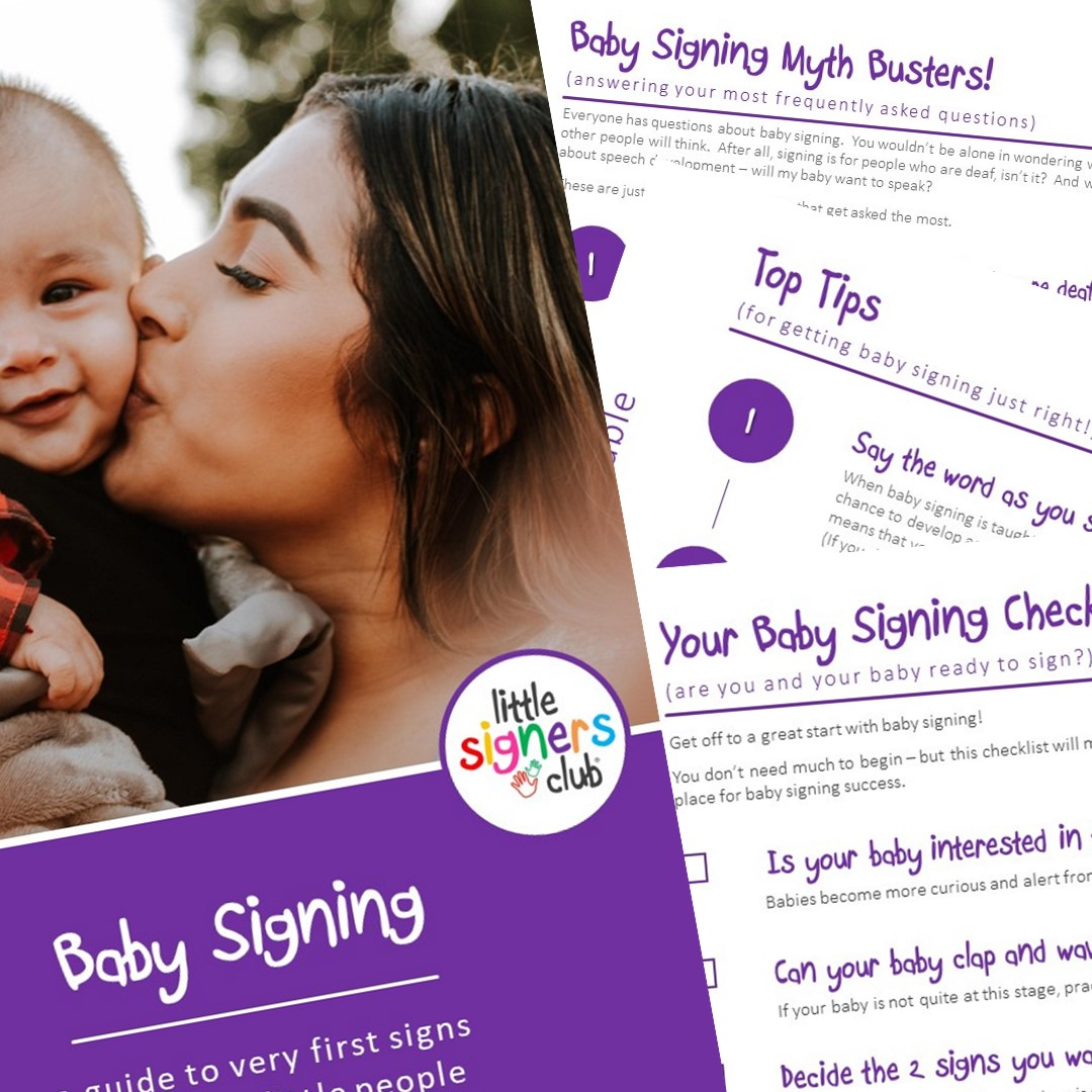 free baby sign language download